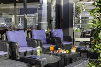 Wh Hôtel - Lille - terrasse canapés