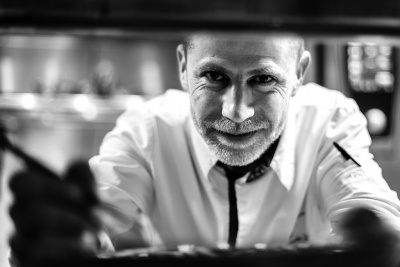 Chef Jean Christophe GILLE  Hôtel L'arbre Voyageur
