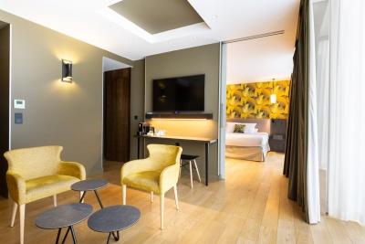 Suite Deluxe - Hôtel L'arbre Voyageur - Lille