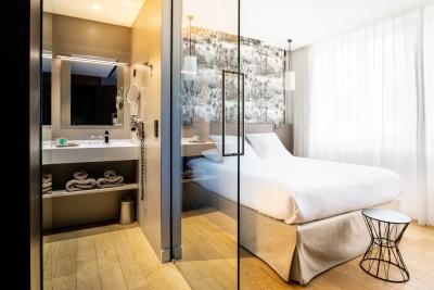 Chambre Deluxe - Hôtel L'arbre Voyageur - Lille