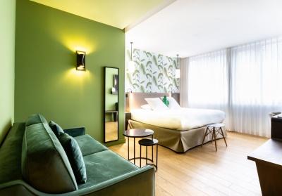Chambre Prestige - Hôtel L'arbre Voyageur - Lille