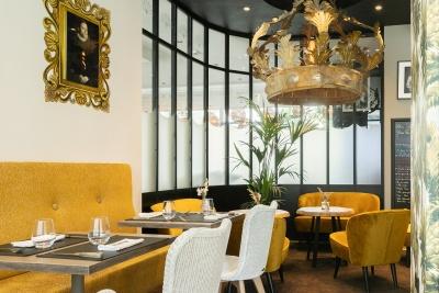 Restaurant MA REINE - Hôtel L'arbre Voyageur Lille