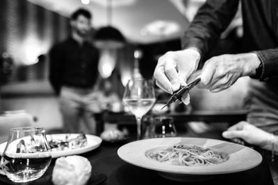 restaurant Jane - Linguines à la truffe