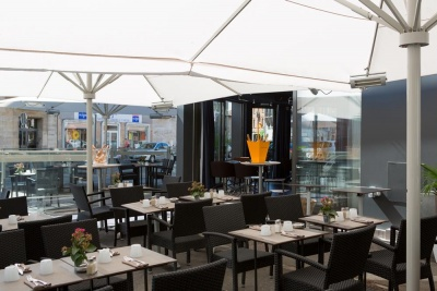 Why Hotel - Lille - terrasse